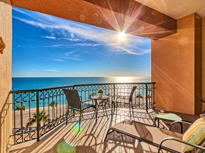 Photo for Sonoran Sea E-605 Barefoot By The Sea 2 BR Oceanfront