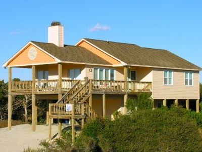 Photo for Excellent ocean views only 2 houses from beach just a few steps