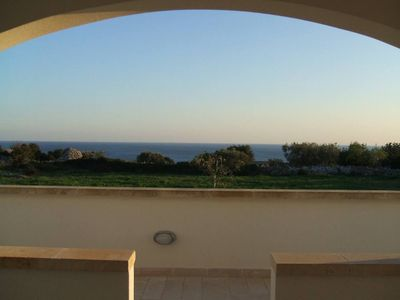 View to Ionian Sea from First Floor