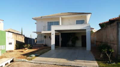 Photo for HOUSE P / 8 PEOPLE IN BRASILIA SOLAR 5 MINUTES FROM THE SPLITTER OF THE MINISTRIES.