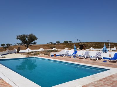 Soak up the sun on a lounger or on our 'beach'! Then a refreshing swim