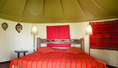 Photo for Mara Siria Luxury Tented Camp - Luxury Cottages