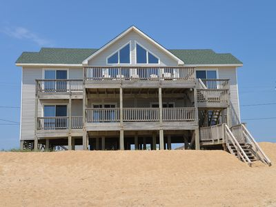Photo for Oceanfront with an amazing deck and spacious floor plan - 387