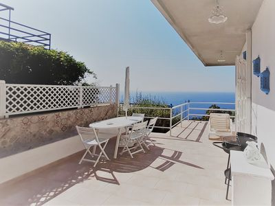 Photo for Residenza Jonica Sea view apartment Letojanni Taormina