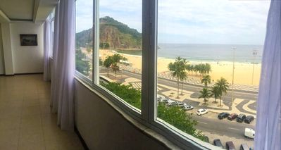 Photo for Large apartment on the seafront in Leme.