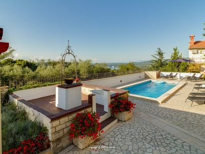 Photo for Charming villa with private pool in Rakalj