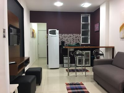 Photo for Apartment in Rio de Janeiro with Lift, Internet, Washing machine, Air conditioning (1023162)