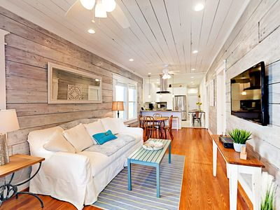 Photo for Beautifully Renovated 1910 East End 4BR w/ Original Shiplap, Steps to Beach