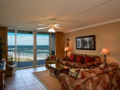 Photo for Shoreline Towers 2054 - 2 Bdrm/ 2 Bath Vacation Rental right on the beach!!
