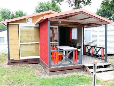 Photo for Camping Les Alouettes **** - Chalet Eco 3 Rooms 4/6 People