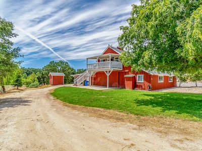 Photo for Red Barn Loft - 2BR/1BA - perfect wine country getaway w/great views & location!