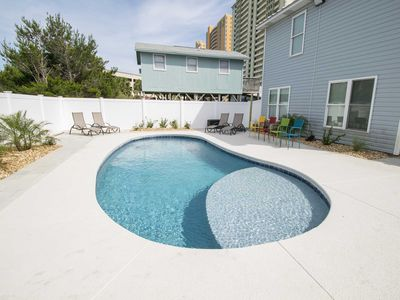 Photo for Luxury Panama City Beach Vacation Home w/ Private Pool! ~ Just Steps to the Beach!