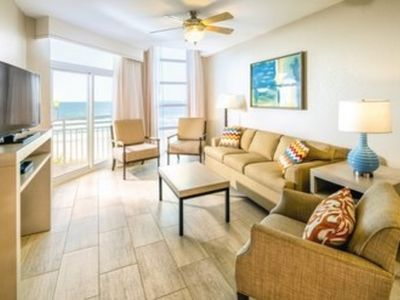 Photo for Two Bedroom Deluxe Ocean Front (Lower Level -Tower 1), North Myrtle Beach, SC