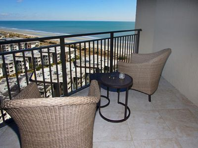 Ocean Forest Plaza 1603, Lovely 1 BR Ocean View Condo with Indoor Outdoor Pool and Hot Tub
