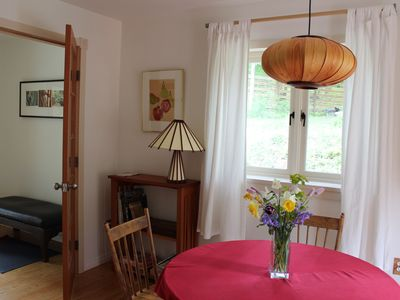Photo for Sunny quiet self-contained patio suite near Ganges on Salt Spring Island.