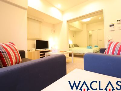 Photo for WACLASS SHIBUYA 40m2 1BR Apartment ★ Scramble Crossing 7min