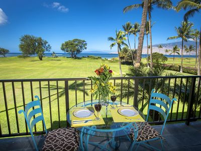 Photo for New Listing! Direct View Beach Oceanfront! Romantic, Central to Everything!
