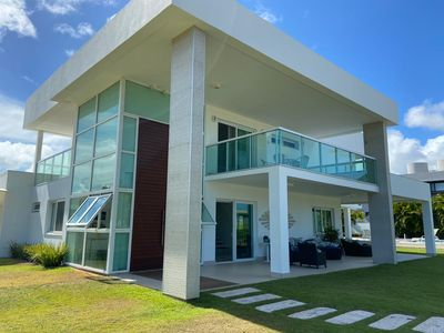 Photo for House in Busca Vida (5 suites, pool, barbecue and leisure area)