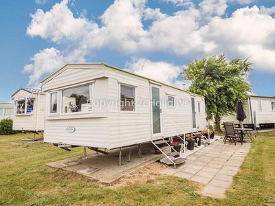 Photo for 6 berth caravan to hire at Cherry tree Holiday park nr Great Yarmouth ref 70725