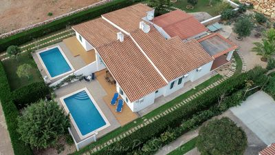 Photo for Villa with private pool and sea views peaceful Location 5minutes  from the beach