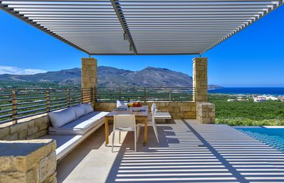 Photo for Luxury award-winning villa with heated private pool! Couples-friendly