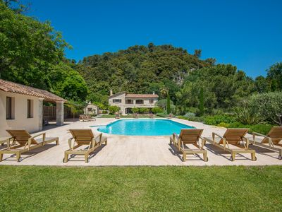 Photo for Very spacious and quality beds peaceful villa with big pool, WIFI and air-con