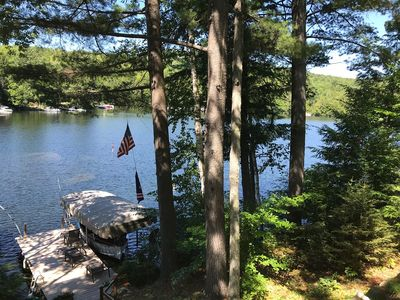 Photo for Stunning All-season Home on peaceful Lake Sunapee; 15 Min to Mt. Sunapee Slps 9