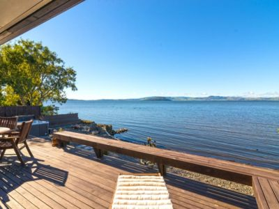 Photo for Soul Haven - Soak in the Views from the Edge of Lake Rotorua.