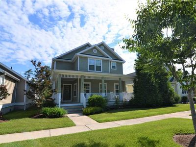 Photo for Gorgeous 4 BR in Pool Community, 2.5 Miles to Rehoboth Beach
