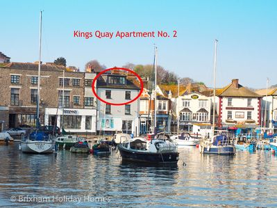 Location of Kings Quay Apartment No. 2