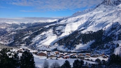Photo for South Apartment 6 people ski in Méribel Mottaret