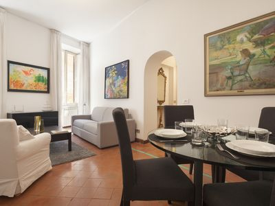 Photo for GIULIA HOME CLOSE TO NAVONA & CAMPO DE 'FIORI. BEAUTIFUL APT IN THE HEART OF ROM