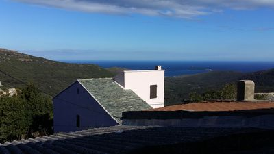 Photo for Typical house of Cap Corse sea view