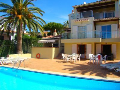 Photo for Casa De La Vara - Spacious private and perfect for families - Large terrace surrounding pool