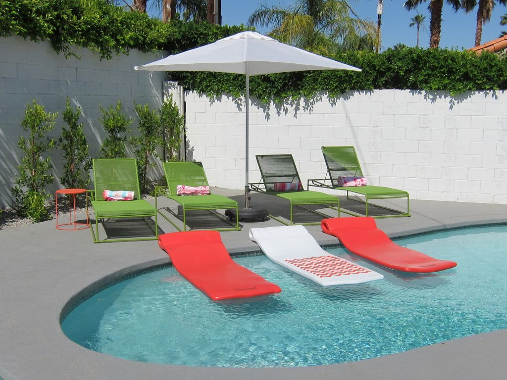 Palm Springs Mid Century Modern Close To Downtown With Private Pool And Cabana Palm Springs