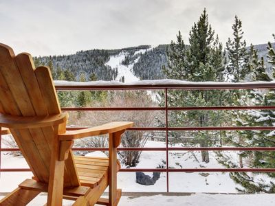 Photo for Upgraded 2 bedroom, 2 bath condo in the Mountain House neighborhood.  This property is a short walk to slopes and has sleeping space for 7.
