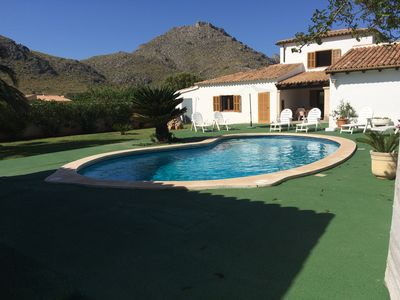 Photo for Villa Cati - 6 people - Semi-detached house/villa with private garden and pool, in Siller just 1 mile from Puerto Pollença and the beach. Free Wifi.