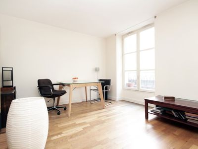Photo for Nice apartment close to Louvre & Opera