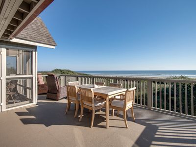 Photo for Ocean View | Steps To The Beach | Wifi | Large Deck | 3 BR Kiawah Island Villa