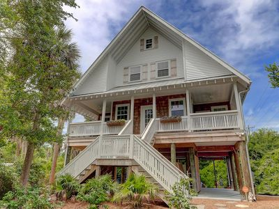 Photo for Second Wind on Folly Beach! 1/2 Block to Downtown Area - New to Rental Market & Remodeled!
