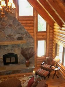 Photo for Rustic Charm-Pure Luxury,near Glacier Park & Golf, in Whitefish