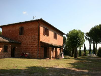 Photo for Villa Musarone. Ancient farm divided into apartments with swimming pool and outdoor space for eating