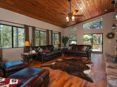 Photo for Large Upscale Munds Park Cabin With Everything!