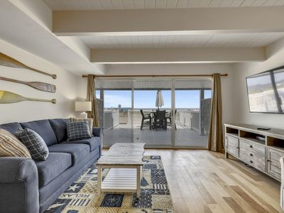 Photo for Newly-Renovated Direct Oceanfront - Linens & Beach Gear Included!