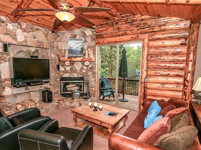 Photo for *HEAVENLY DAZE~IMMACULATE CENTRAL LOG HOME~Pool Table~Deck Views