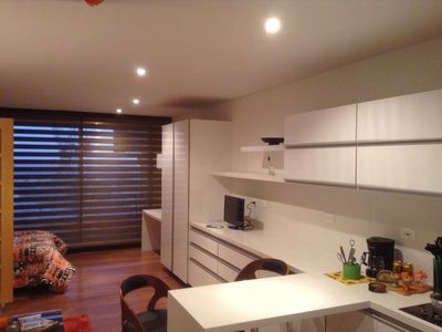 Photo for Comfortable and quiet loft. Touristic and business corredor at the capital.