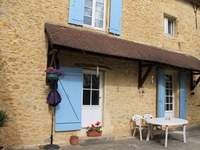 Photo for Rural Cosy Beamed Cottage VF-Du-Perigord Log fire Stunning Views Private Terrace