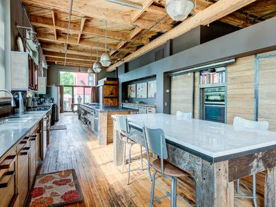 Photo for HUGE Downtown Luxurious Loft w/ Gym, Historic Building, Secluded Courtyard ★★★★