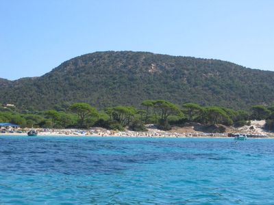 Photo for Palombaggia nature and beach 4 people