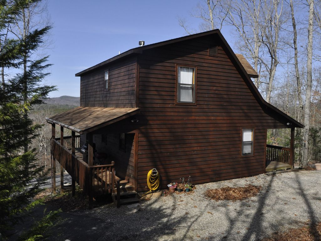 3 Bedroom Cabin With Mountain Views Foosball And Ping Pong Table Pet Friendl Blairsville North